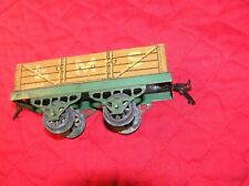 Hornby O Scale Open Wagon LMS 12530 Green Frame, Zinc Wheels Early Couplers (A)