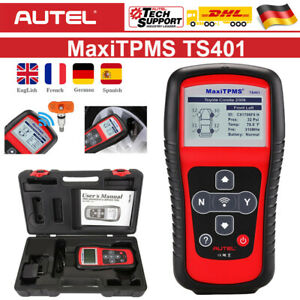 Autel TS401 RDKS Anlerngerät TPMS Programmiergerät Reifendruckkontrollsystem DE
