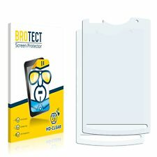 2x Displayschutz Folie Klar Sony Ericsson Xperia X10 Mini Pro Schutzfolie