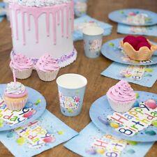 120tlg. Set Party Geschirr Einweg Kinder Geburtstag Kindergeburtstag Dekoration