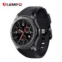 New LEMFO LF16 Bluetooth Smart Watch Phone 3G WIFI Nano SIM Card GPS For Android