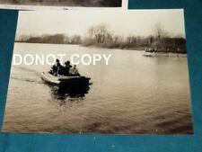 #9204,Rare WWII Orig Photo & Documents Raft Building Ashland OH Eagle Rubber Co