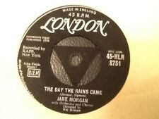 JANE MORGAN . THE DAY THE RAINS CAME / LE JOUR OU LA PLUIE VIENDRA . 1958 LONDON