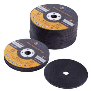 """25 Pack Cut Off Wheels 3""""x1/16""""x3/8"""" Die Grinder Reinforced Metal Cutting Disc"""
