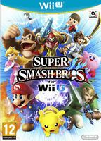 SUPER SMASH BROS WII U BRAND NEW FAST DELIVERY!