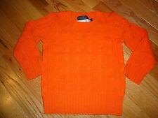 nwt Polo Ralph Lauren 100% Cashmere Boy's Sweater sz 2/2T