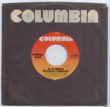 "45 RPM 7"" Vinyl - Al Dimeola - Splendido Sundance / Roller Jubilee - NM"