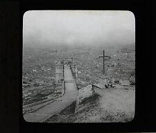Marseille France ca 1900 Plaque de projection