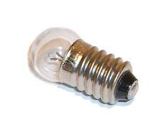 25x Glühlampe Glühbirne E10 6V 0,1A / 100mA Glühbirnchen auch farbig (je 0,72€)