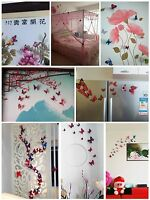 12PCS/LOT 3D Butterfly Decals Stickers Wall Home Decor Art Design Decoration New