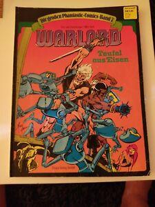 Die großen Phantastic Comics Nr. 7: Warlord - Teufel aus Eisen