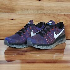 NEW Nike Air Max Flyknit 'MultiColor' Running Shoes [620469 016] Men's Size 8