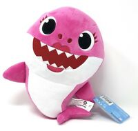 NEW Pinkfong Baby Shark Official Song Doll by WowWee - Pink Mommy Shark English