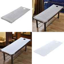 Soft Massage Table Mattress Sheet Cover for Beauty Beds White Gray 190x80cm
