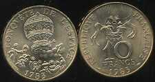 10 francs  1983 CONQUETE DE L'ESPACE  tranche A  SPL