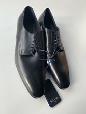 Paul Smith PS Black Leather  Shoes-Size UK 7