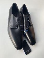 Neues AngebotPaul Smith Ps Schwarz Leder Schuhe-Größe UK 7