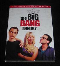 THE BIG BANG THEORY COMPLETE SEASON ONE DVD
