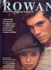 Rowan Knitting Book 16 Magazine 1994 Autumn Winter Kaffe Fassett Islander