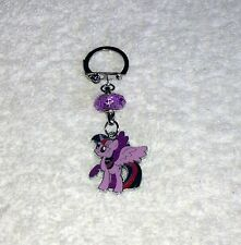 Unwanted MY LITTLE PONY Twilight Sparkle KEYRING HANDBAG CHARM Free Gift Bag
