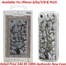 Vera Bradley Glitter Flurry Case for iPhone 8/7/6S/6 & PLUS Chunky Gold Glitter