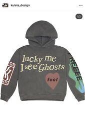NEW Kid Cudi Kids See Ghosts Hoodie Kanye West Camp Flog Gnaw