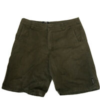 Metal Mulisha Mens Casual Shorts Black Size 38