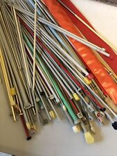 knitting needles job lot & Bag