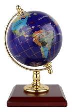 Replogle Desktop Gemstone Globe - Handcrafted with Precious Stones, Ideal...