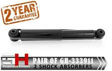 2 NEW REAR SHOCK ABSORBERS FOR  RENAULT TRAFIC II, VAUXHALL VIVARO /// GH-333911