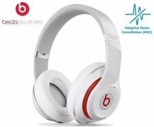 Beats Studio 2.0 Wired Over-Ear Headphones Noise Cancelling  - White