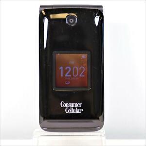 Alcatel Quickflip 4044L (Consumer Cellular) 4G LTE Flip Phone Clean IMEI - READY