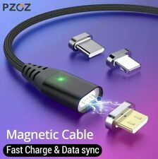 Essager Magnetic Micro USB Cable For iPhone Samsung Fast Charging Data Wire Cord