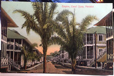 EMPIRE, Canal Zone, PANAMA Post Card 1905-15 TOWN VIEW, STREET SCENE