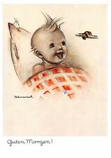 "vintage unused  greeting cards  ARS SACRA  B. Hummel ""good morning""1190"""