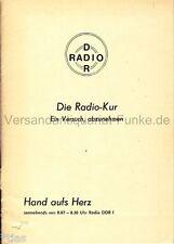 Radio DDR mano sul cuore la radio Terme per dimagrire DDR DIETA RICETTE 1978