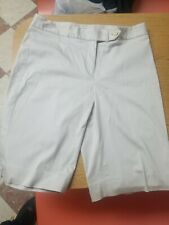 Jones New York Signature Stretch Shorts Size 10  Beige USED NWT $49 Great Condi