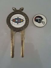 (8228) Super Bowl Xxiii Broncos Vs Packers Golf Divet/ Ball Marker Money Clip