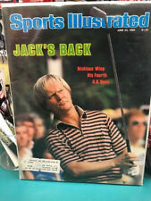 JACK NICKLAUS 1980 Sports Illustrated Magazine WINS 4TH U.S. OPEN JUNE 23 1980