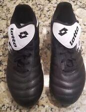 Lotto H6996 black / white soccer cleats children's size