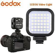 Godox LED36 Video Light 36 LED Lights for DSLR Camera Camcorder mini DVR U0A2