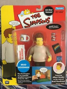 Playmates THE SIMPSONS Brad Goodman WOS Action Figure MOC