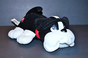 Mattel Happy Waggin Pups Pound Puppy Talking Interactive Black and White