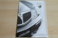 80946) Lancia Lybra + SW - Preise & technische Daten & Ausstattungen - Prospekt