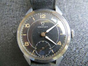 Omega - British Military Wristwatch - Handaufzug mit dezentraler Sekunde