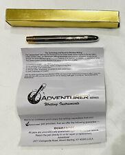 NEW Original Engraved Panavision Pressurized Everwrite Pen Black Ink