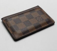 Louis Vuitton Card Holder damier Porte Cartes grise
