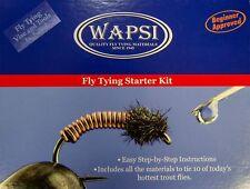 WAPSI FLY TYING STARTER KIT WITH HANDBOOK