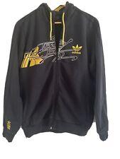 Adidas Originals Top Hoody Rare Vintage Retro Football Casual End To End M Black