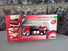 Vintage SIKU#3780 MERCEDES SK vigili del fuoco fireman van NRFB NIB rare